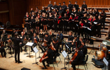 Coro, Orchestra e Ensemble di chitarre a Ecolades 2019: Video e Immagini